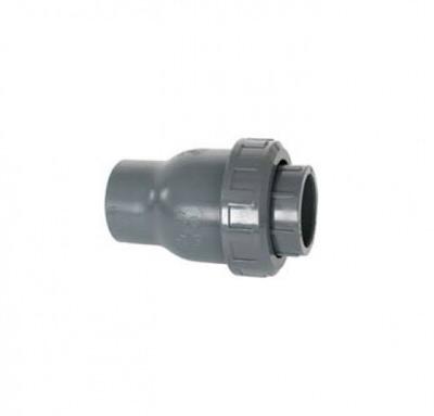 обратный клапан пружинный пвх coraplax - d 40 мм Coraplax (Испания) краны, обратные клапана