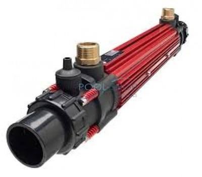 теплообменник для бассейна elecro - 85 квт трубчатый Elecro engineering (Англия) теплообменник для бассейна