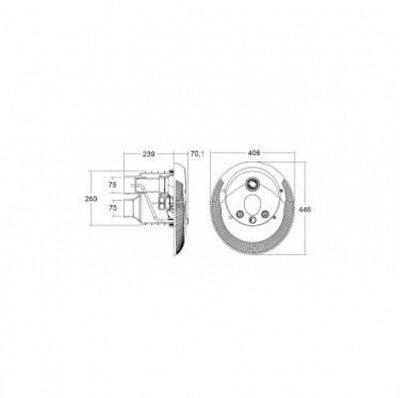 система противотечение emaux afs55 - 90 м3/час Emaux (Китай) системы противотечения