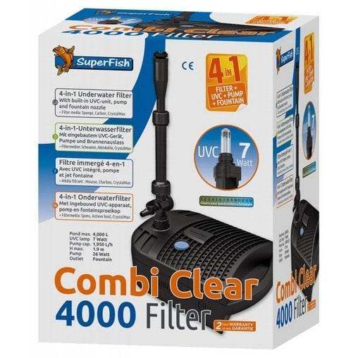 Підводний фільтр для ставка Superfish Combi Clear 4000