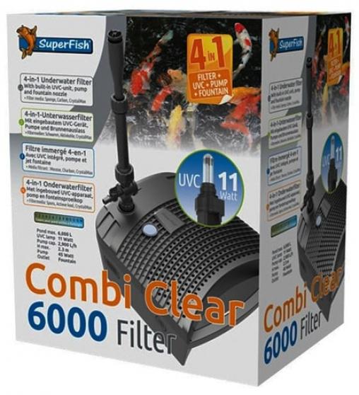 Підводний фільтр для ставка Superfish Combi Clear 6000
