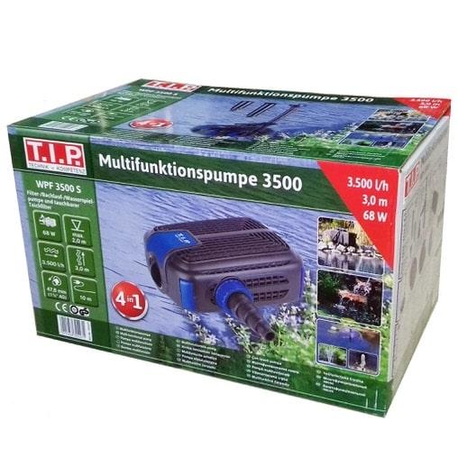 Подводный фильтр-фонтан для пруда T.I.P. Multifunktions-Teichpumpe WPF 3500 S