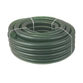 Шланг напорно-всасывающий, спиральный (зеленый), 25 мм