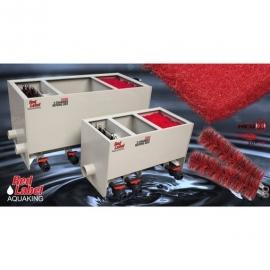 Фильтрующие щетки Sansai Filterborstel Zwart/Rood 15x40cm