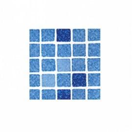 Пленка ПВХ для бассейна Elbeblau Mosaic blue - Мозаика синяя (ширина 1.65 м)