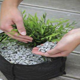 корзина для высадки водных растений oase, круглая, 25см Oase (Германия) для высадки растений