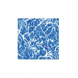 Пленка ПВХ для бассейна Elbeblau Marble blue - Мрамор синий (ширина 1.65 м)