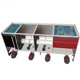 четырехкамерный проточный фильтр для пруда aquaking red label 4 chamber filter 12000 AquaKing (Нидерланды) проточные фильтры для прудов