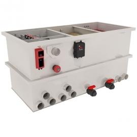 Комбинированный барабанный фильтр для пруда (УЗВ) AquaKing Red Label Combi Filter Basic 500 PLUS