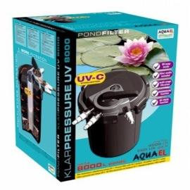 напорный фильтр для пруда aquaеl klarpressure uv 8000 Aquael (Польша) напорные фильтры для прудов