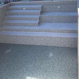 Плівка ПВХ для басейну Cefil Mediterraneo Sable пісочна мозаїка (ширина 1.65 м)