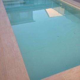Пленка ПВХ для бассейна Cefil Terra песочный, объемная текстура (ширина 2.05 м)
