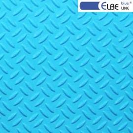 Пленка ПВХ для бассейна Elbeblue line Adriatic blue, противоскользящая (ширина 1.65 м)
