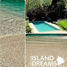 Плівка ПВХ для басейну Elbeblue line Island Dreams Tahiti (ширина 1.6 м)