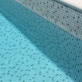 Пленка ПВХ для бассейна Elbeblue line Mosaic grey, мозаика серая (ширина 1.65 м)
