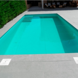 Пленка ПВХ для бассейна Elbeblue line Turquoise, бирюзовая (ширина 2.0 м)