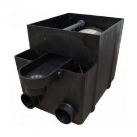 барабанный фильтр для пруда (узв) filtrea drum-filter incl. uvc 40 w (gravity) Filtreau (Нидерланды) барабанные фильтры