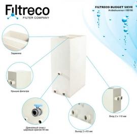 ситчатый фильтр для пруда (узв) filtreco budget sieve Filtreco (Нидерланды) ситчатые предфильтры