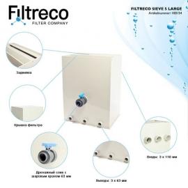 ситчатый фильтр для пруда (узв) filtreco sieve 5 large Filtreco (Нидерланды) ситчатые предфильтры