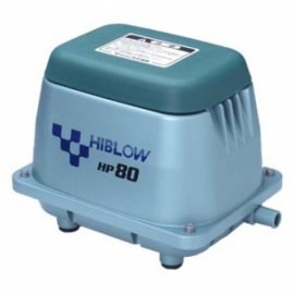 компрессор для пруда, hiblow hp-80 Techno Takatsuki Co., LTD (Япония) aэраторы для пруда