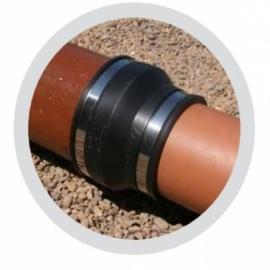 гибкая муфта-переходник pipeconx 125 х 110 mm Pipeconx (США) гибкие резиновые соединения