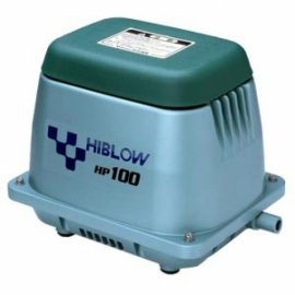 компрессор для пруда, hiblow hp-100 Techno Takatsuki Co., LTD (Япония) aэраторы для пруда