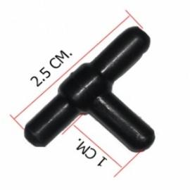 переходник т-образный тройник 4 мм Aquael (Польша) aэраторы для пруда