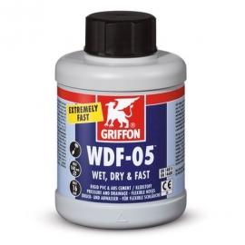 Клей для гибкой ПВХ трубы (флекс) GRIFFON WDF-05 - 250 мл