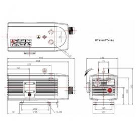 Компрессор для пруда роторный HPE DT 416-1