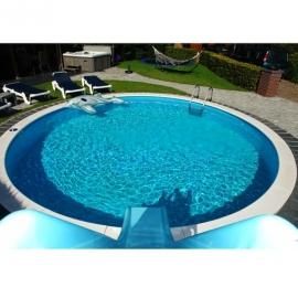 Сборный каркасный бассейн Milano 8,00 х 1,5 м
