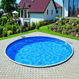 Сборный каркасный бассейн Milano 3,50 х 1,5 м