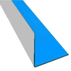 Монтажный уголок для ПВХ пленки, внутренний, 2м