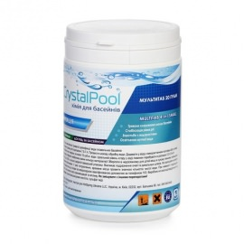 Мульти таб Crystal Pool - 1 кг (табл. 20 гр)