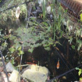сетка (каркас) на зеркало воды atlantic pgpsm 6 x 6 м Atlantic (США) аксессуары по уходу за прудом