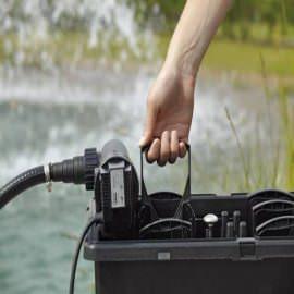 комплект фильтрации для пруда oase biosmart set 14000 Oase (Германия) проточные фильтры для прудов