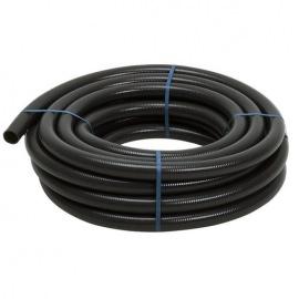 Шланг напорно-всасывающий, спиральный (черный). 25 мм