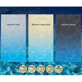 Пленка ПВХ для бассейна StoneFlex Bazelete, серый (ширина 1.65 м)