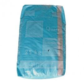 Кварцевый песок (0.4 - 0.8 мм) - 25 кг