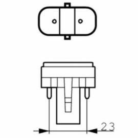 Сменная УФ-лампа Philips UVC 13 Вт