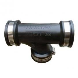 """гибкий тройник pipeconx 4"""" / 110 мм Pipeconx (США) гибкие резиновые соединения"""