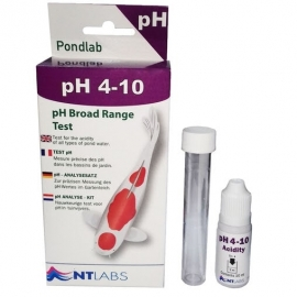 Тест NT Labs Pondlab PH 4-10 Test Kit