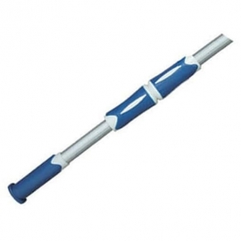 Штанга телескопічна Bridge з синьою ручкою, 1.8 - 3.6 м