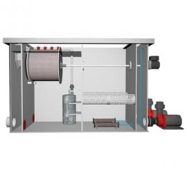 комбинированный барабанный фильтр для пруда (узв) aquaking  red label combi drum filter 30/35 AquaKing (Нидерланды) барабанные фильтры