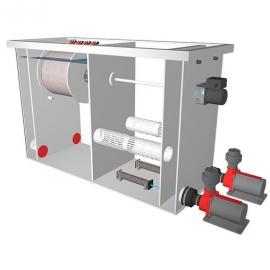 комбинированный барабанный фильтр для пруда (узв) aquaking  red label combi drum filter 20/25 AquaKing (Нидерланды) барабанные фильтры