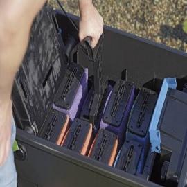 cменные губки для фильтра oase biotec screenmatic 40000, красные/фиолетовые Oase (Германия) сменные фильтрационные вкладыши