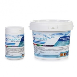 хлор длительный crystal pool slow chlorine tablets - 1 кг (табл. 200 гр) Crystal Pool (Германия) химия для бассейна