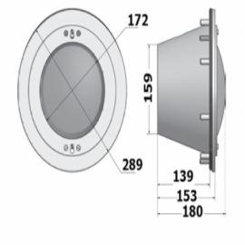 прожектор галогенный pahlen (под лайнер) - 300 вт Pahlén (Швеция) подводные прожекторы