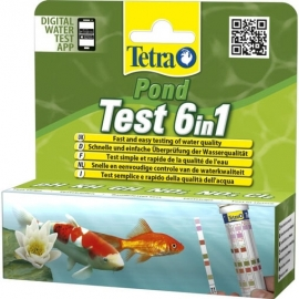 Тест Tetra Pond QuickTest 6in1