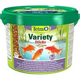 Корм для рыб TetraPond Variety Sticks - 10л/ 1.65кг