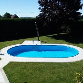 Сборный каркасный бассейн Toskana 3,50 x 7,00 х 1,5 м